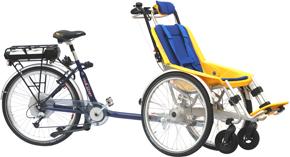 fiets achter zit steun